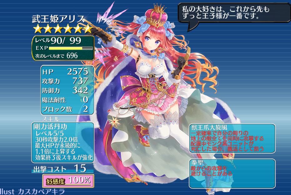 武王姫アリス 千年戦争アイギス